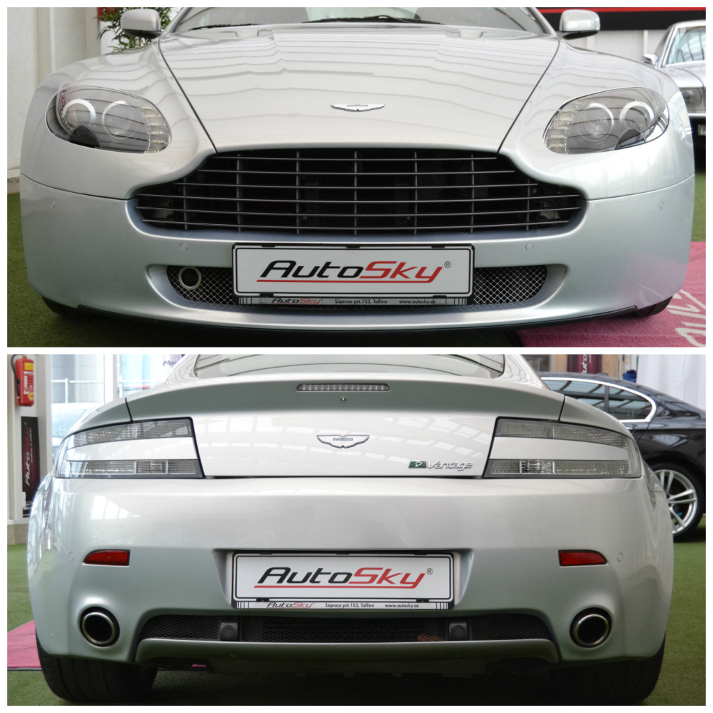 Aston Martin V8 Vantage N400 Coupe 4.3 V8 298kW