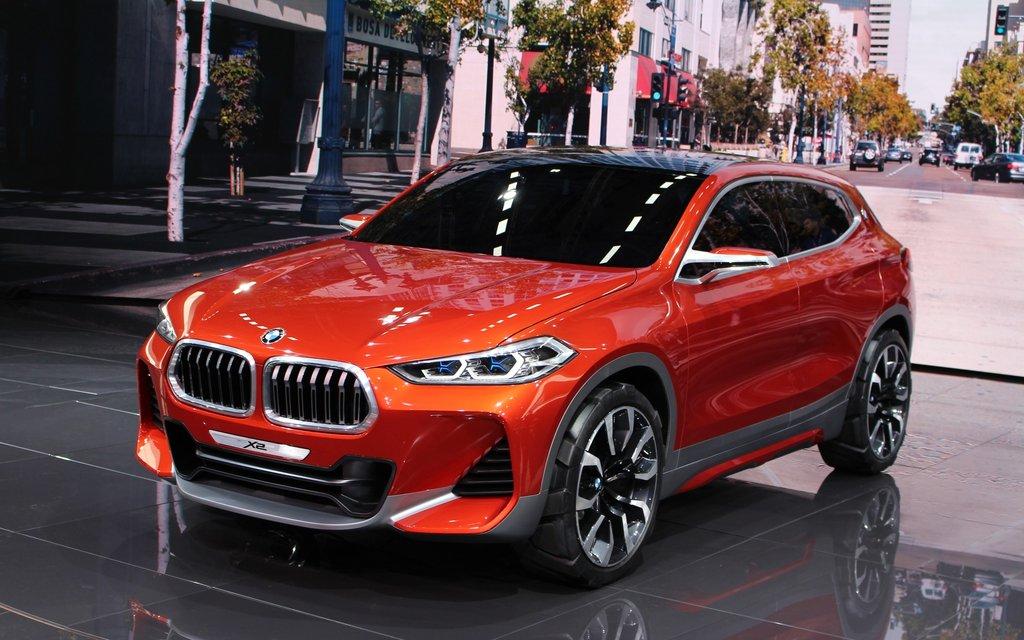 BMW X2 2018, Autosky