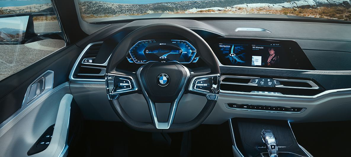 BMW X7 2018 salong, Autosky