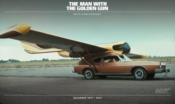 Scaramanga lendav auto James Bondi filmist - Autosky
