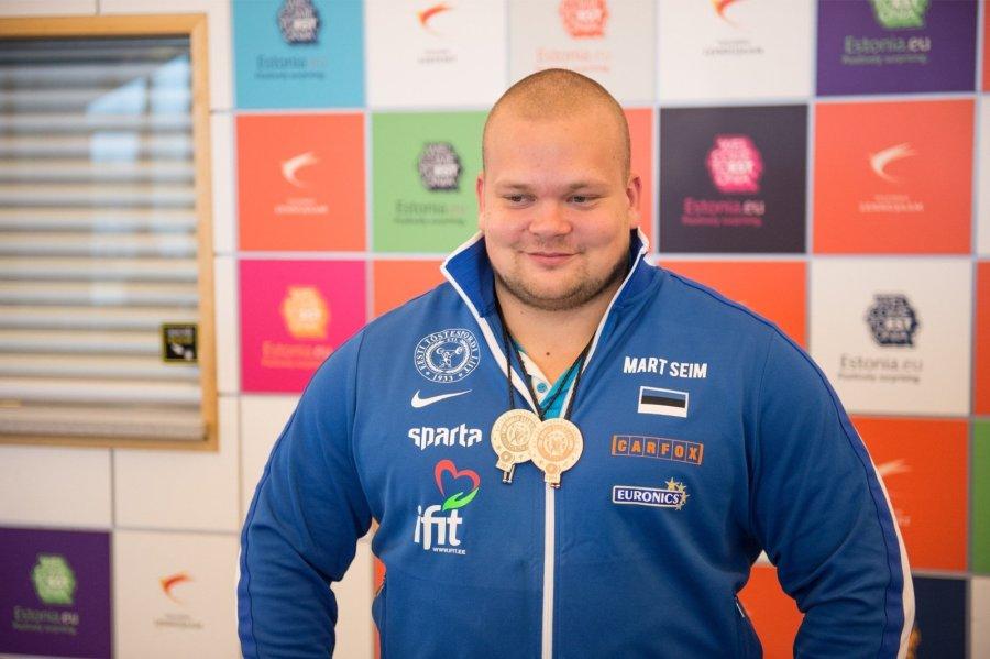 Mart Seim MM medalitega - Delfi Sport