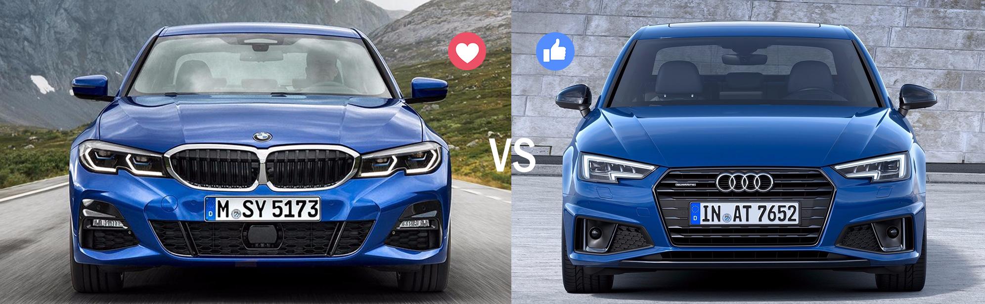 Kumma valiksid Sina: 2019 Audi A4 või BMW 3. seeria?